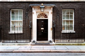 The Lampshade Company Visits Number 10 Downing Street